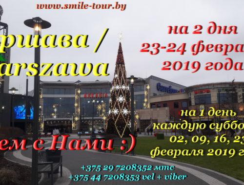 Варшава Аркадия февраль 2019